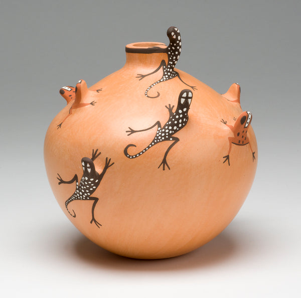 Lizards & Frogs Unite Pottery