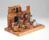 Cottonwood, Cedar Wood & Pine Nativity Scene