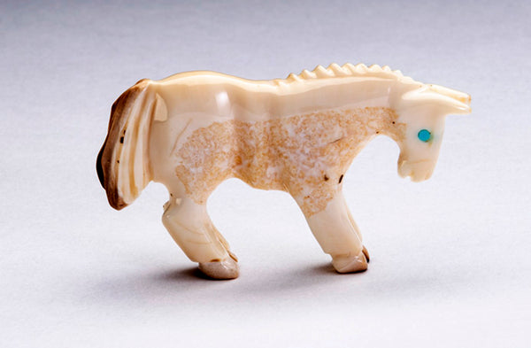 Fossilized Ivory Horse