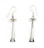 Sterling Silver Squash Blossom Earrings