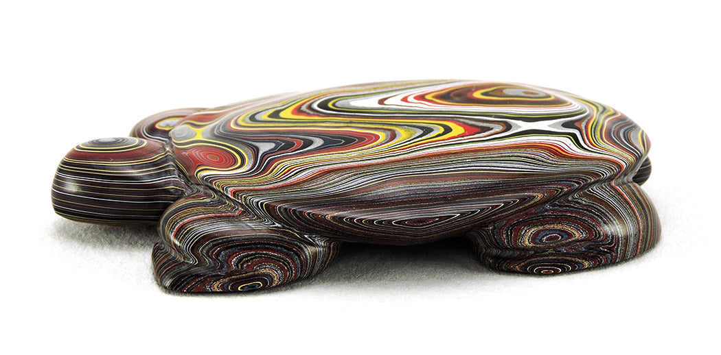 Multicolored Reptile Of Fordite
