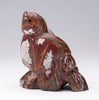 Red and Green Blanket Rhyolite Owl