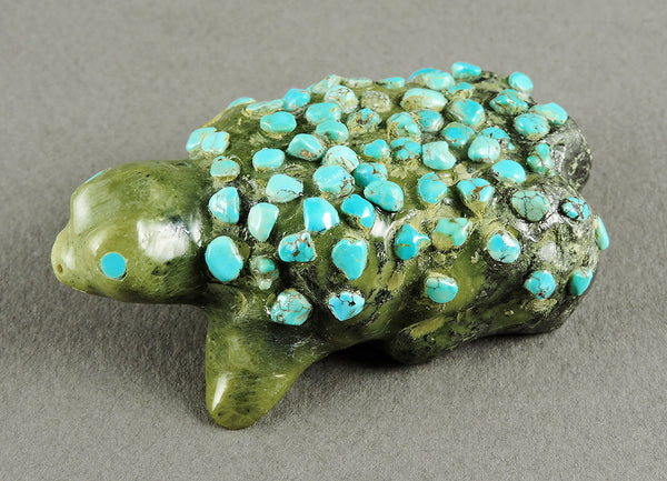Turquoise Studded Toad