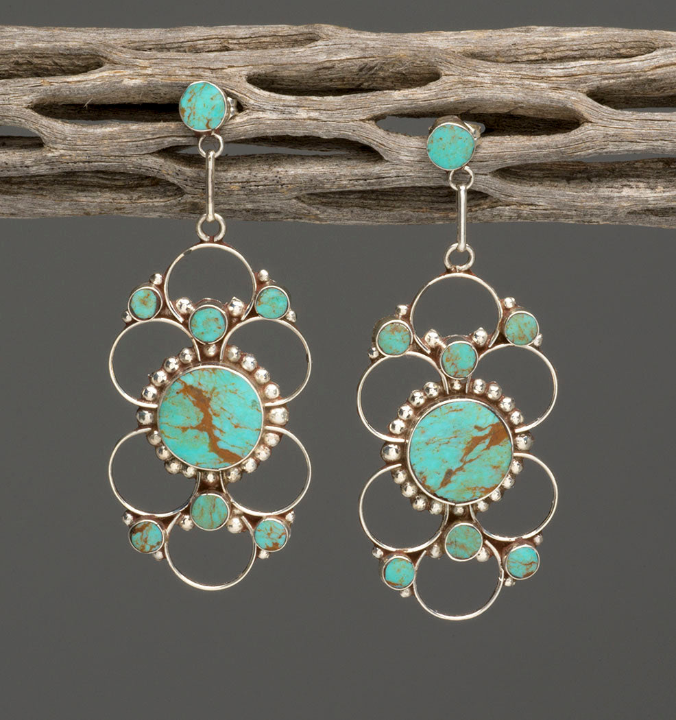 Visionary Turquoise Earrings