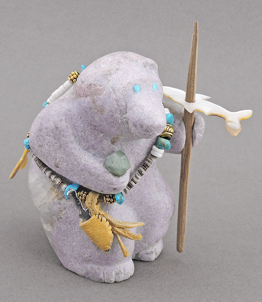 Harpooning Bear of Lepidolite