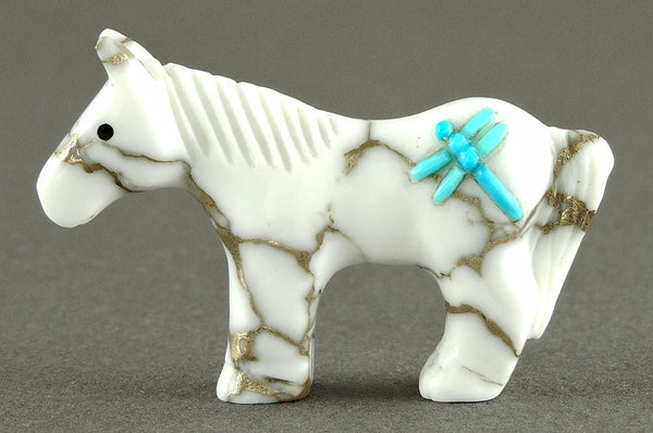 Diminutive Horse Of Marble