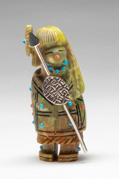 Mojave Green Turquoise Warrior Maiden