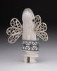 A Butterfly Maiden Of Antler With Sterling Silver Wings