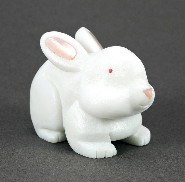 Cottontail Of White Marble