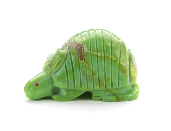 Mojave Green Turquoise Armadillo