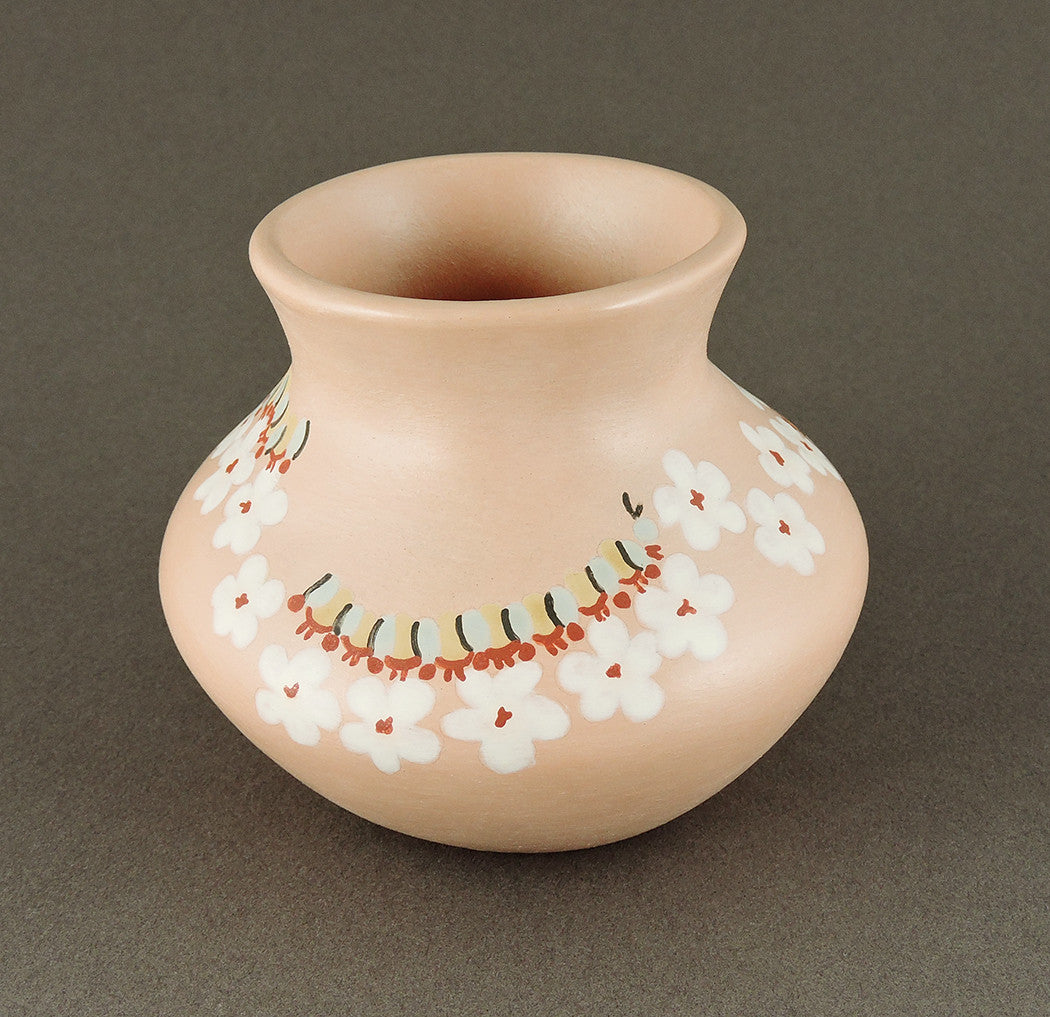 Caterpillars & Flowers Pottery