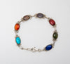 Many Colors Link Bracelet