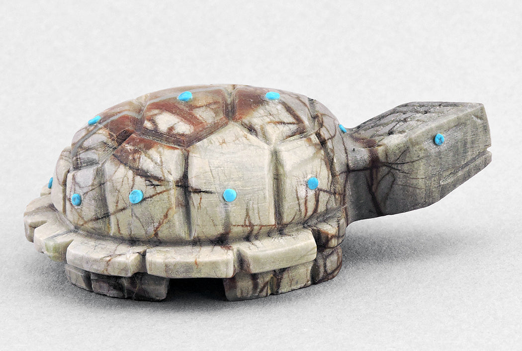 Gentle Turtle of Picasso Marble