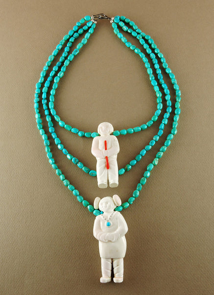 Pueblo Couple Necklace