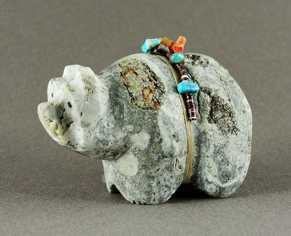 Joyful Bear Of Found Pyrite