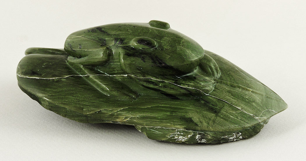 Frog Of Emerald Ricolite