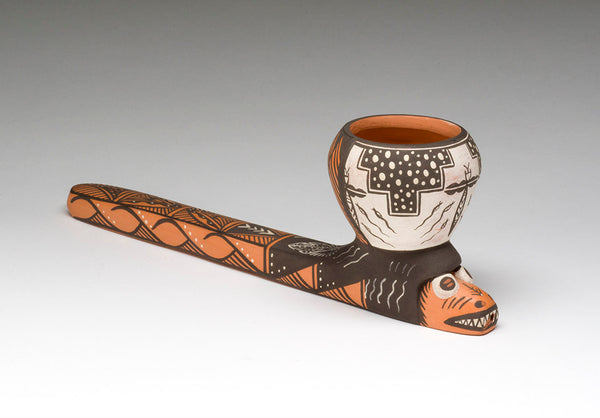 Kolowisi Pottery Pipe