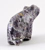 Opalized Fluorite Bear With Silver Eyes