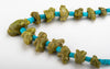 Tansanian Green Opal Frog Necklace