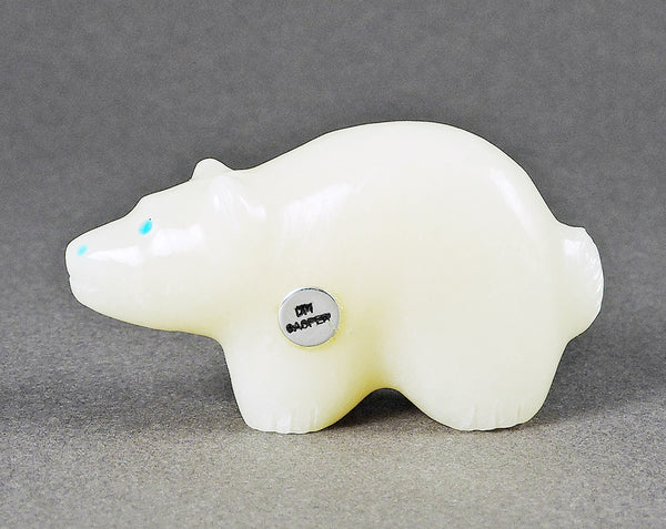 Lucky Bear of Ivory Stone