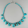 Eleven Turquoise Hands Necklace