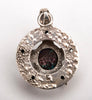 Reticulated Sterling Silver & Boulder Opal Star Pendant