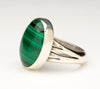 Mesmerizing Malachite Ring
