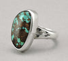 Eye-Catching Turquoise & Sterling Silver Ring