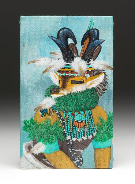 "First ""Antelope Kachina"" Painting"