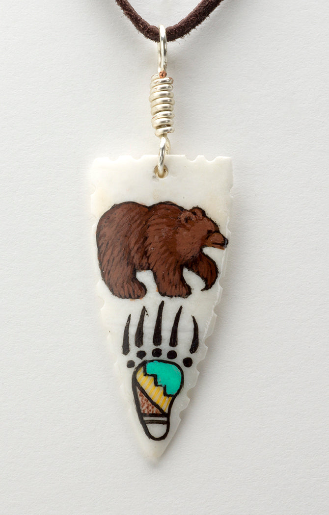 Bear Pendant Brings Strength