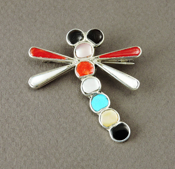 Cheery Dragonfly Pin/Pendant