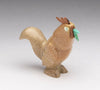 Zuni Travertine Rooster Crowing