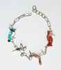 Feathered Friends Unite Link Bracelet