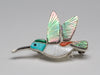 Flying To Zuni Hummingbird Pin/Pendant