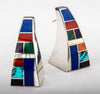 Mosaic Hollow Form Earrings