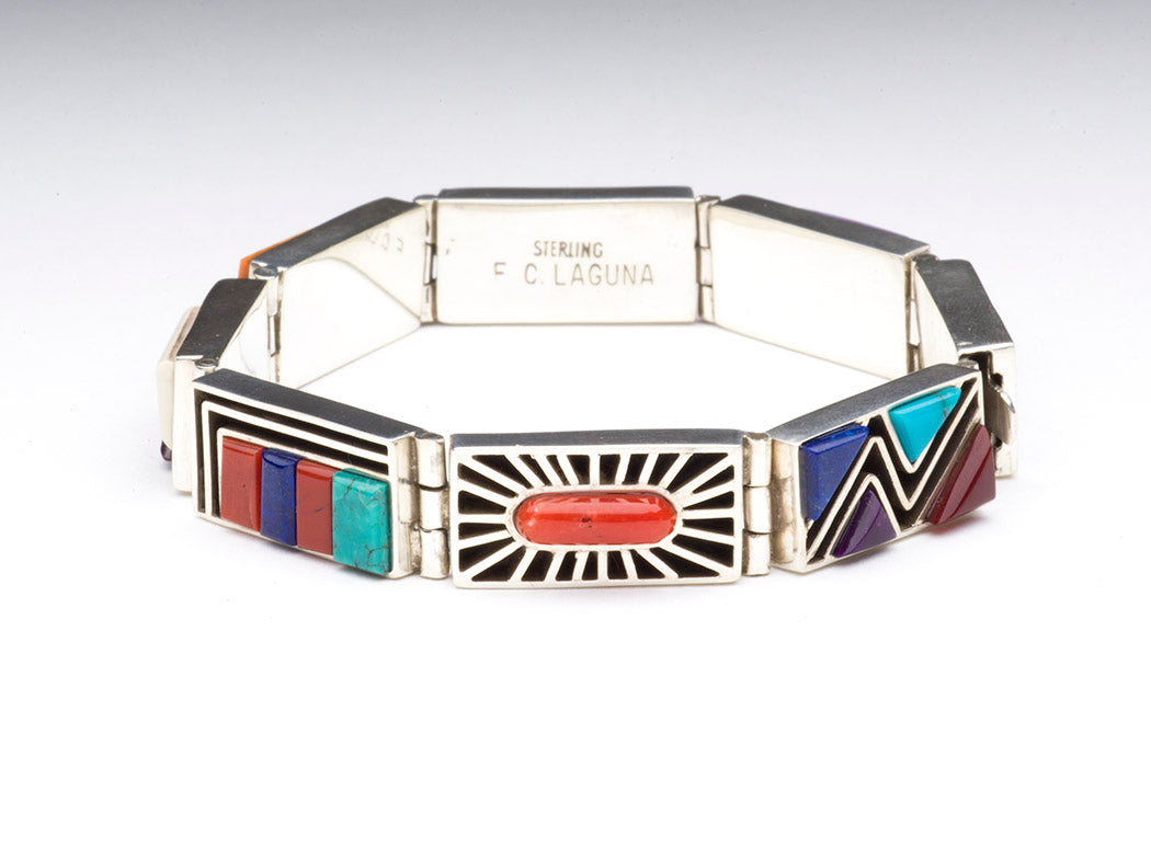 "Inspirational ""Canyon De Chelly"" Link Bracelet"