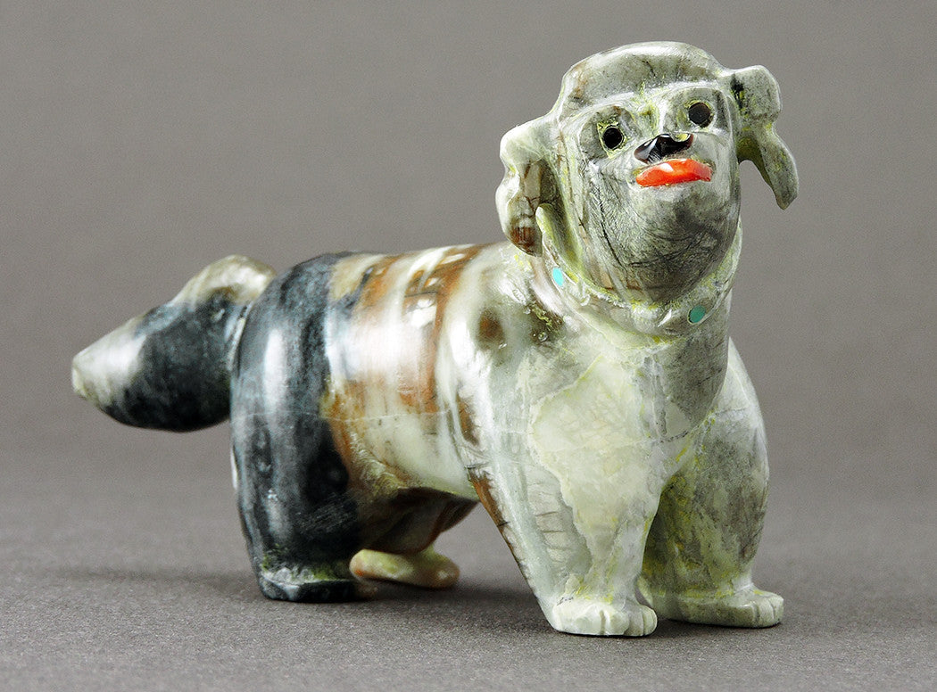 Happy Picasso Marble Pup