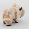 Stout Bison of Zuni Travertine