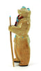 Zuni Travertine Frog Man