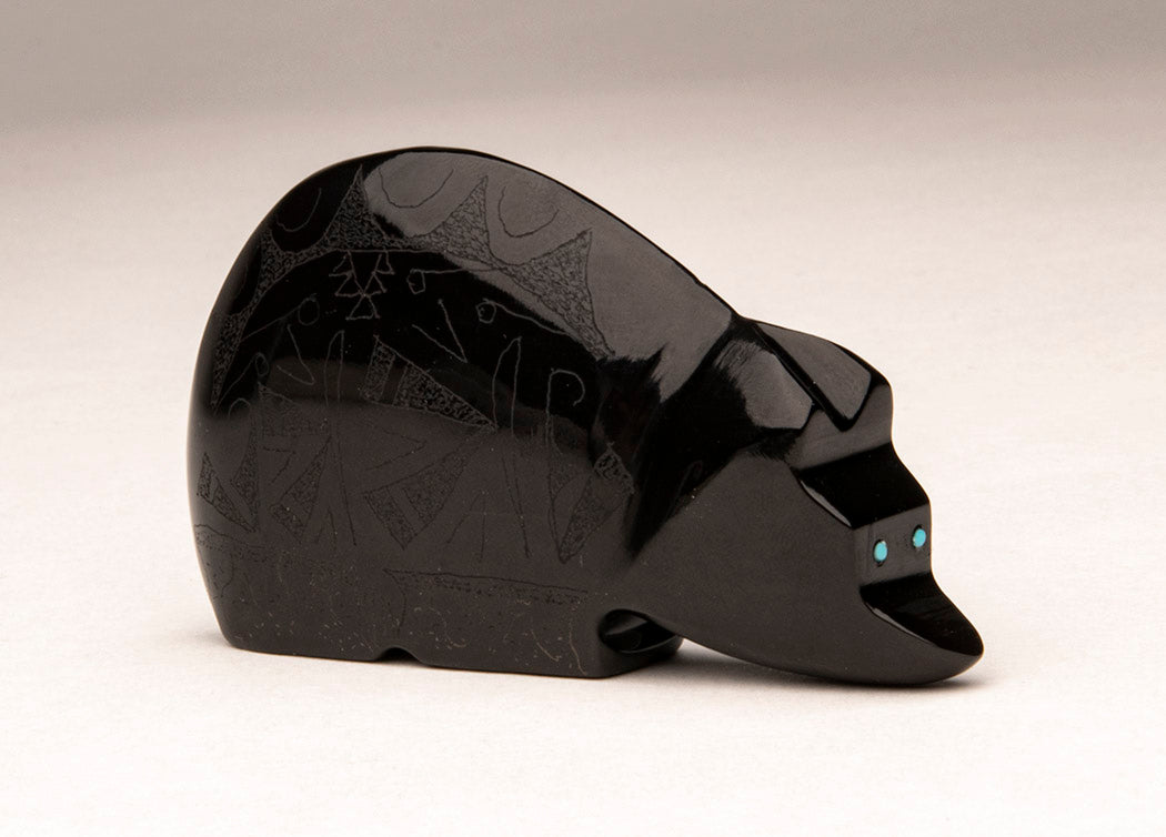 Sgraffito Bear