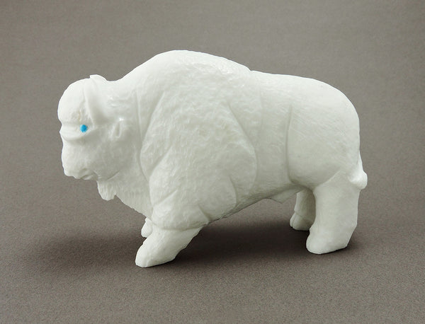 A Sacred White Bison