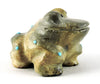 Joyful Frog Of Zuni Travertine