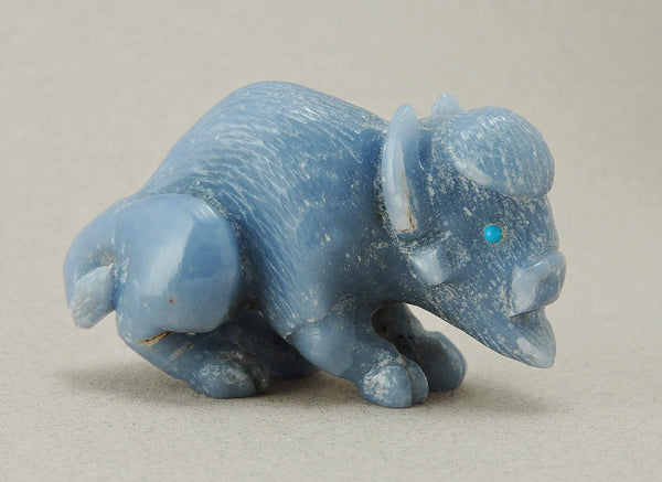 Angelite Bison