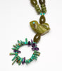 Serpentine Love Bird Necklace