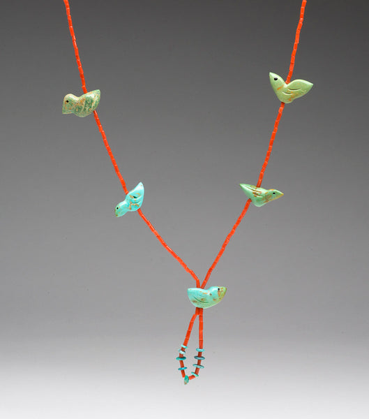 Five Feathered Friends Necklace