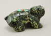 Serpentine With Hematite Bear