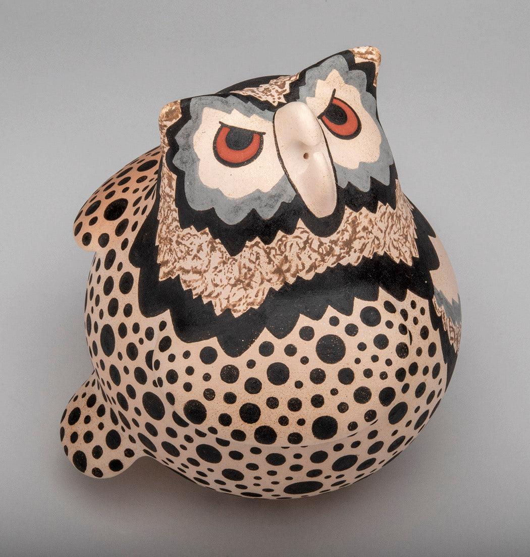 Night Grandfather Clay Owl
