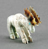 Picasso Marble Moose With Pen Shell Antlers