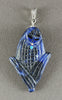 Reversible Corn Maiden Pendant Of Sodalite