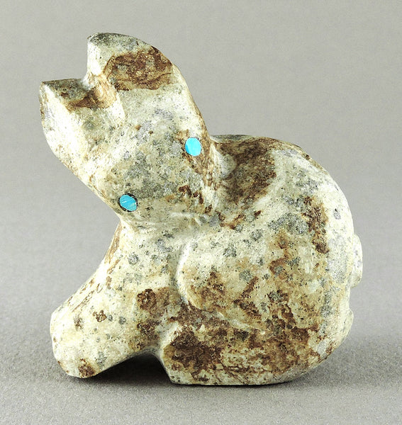 Lovely Bunny Of Cerrillos Turquoise